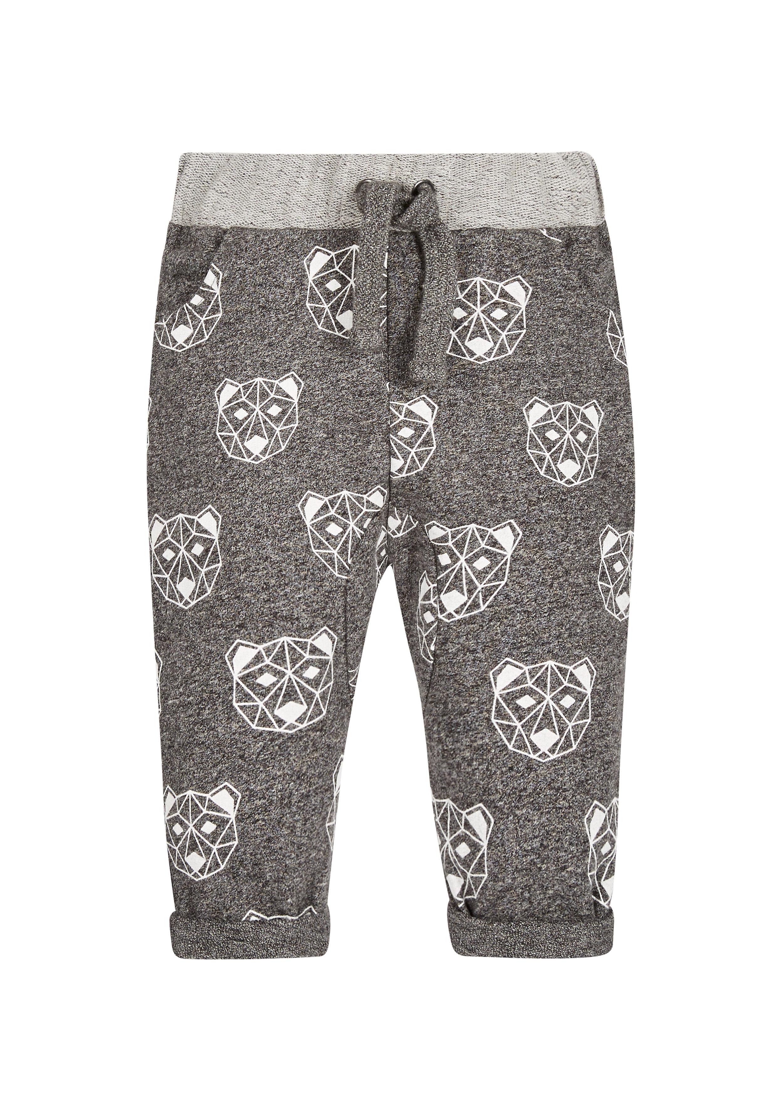 Mothercare | Boys Joggers Bear Print - Grey