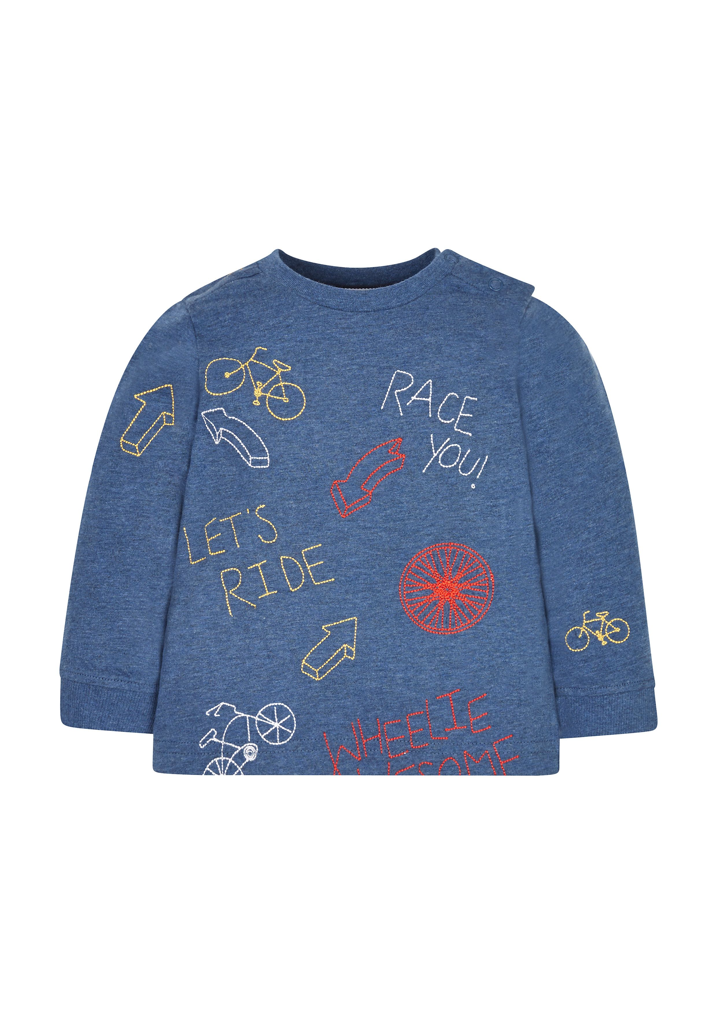 Mothercare   Bicycle Embroidered T-Shirt