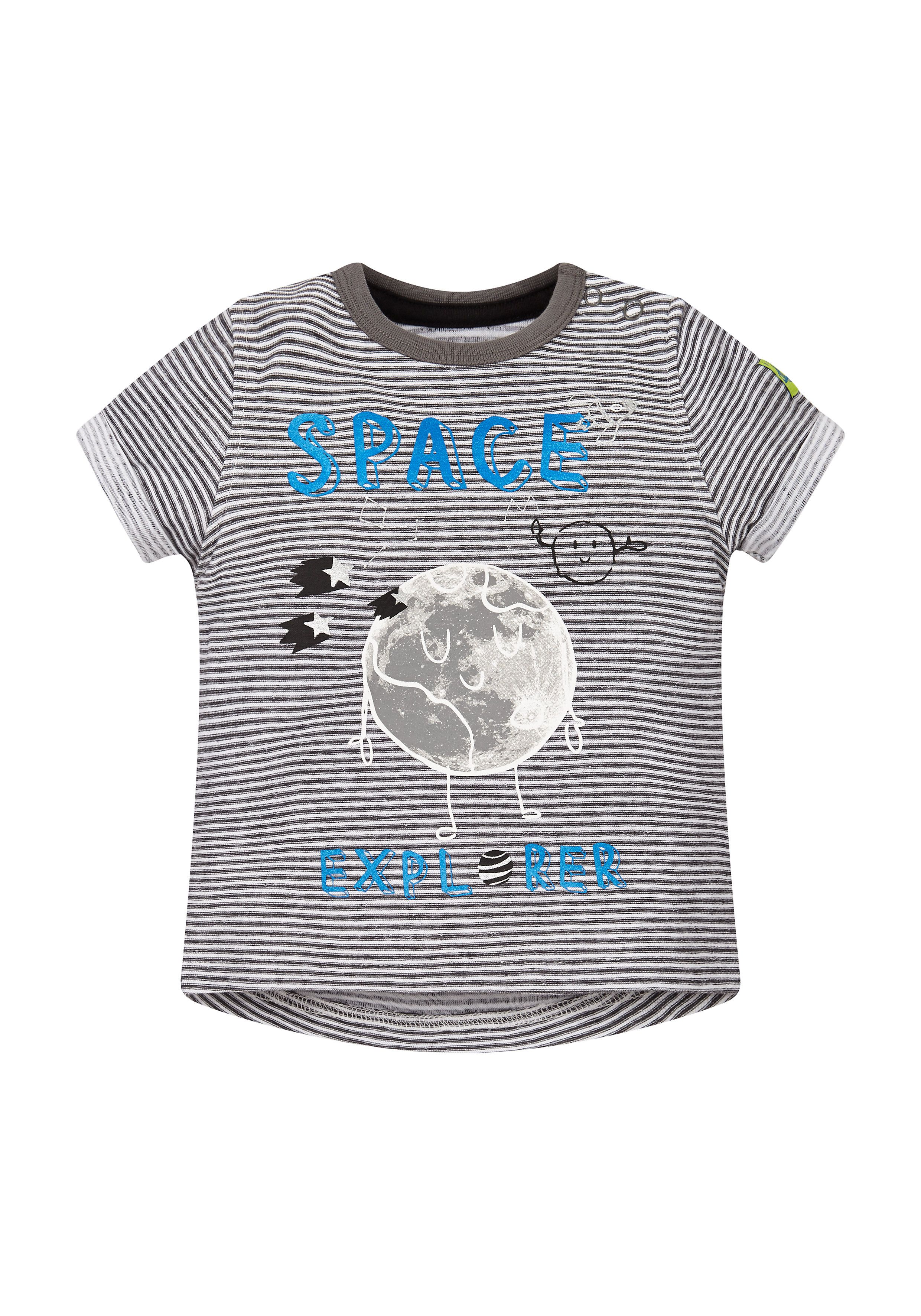 Mothercare | Striped Space Explorer T-Shirt