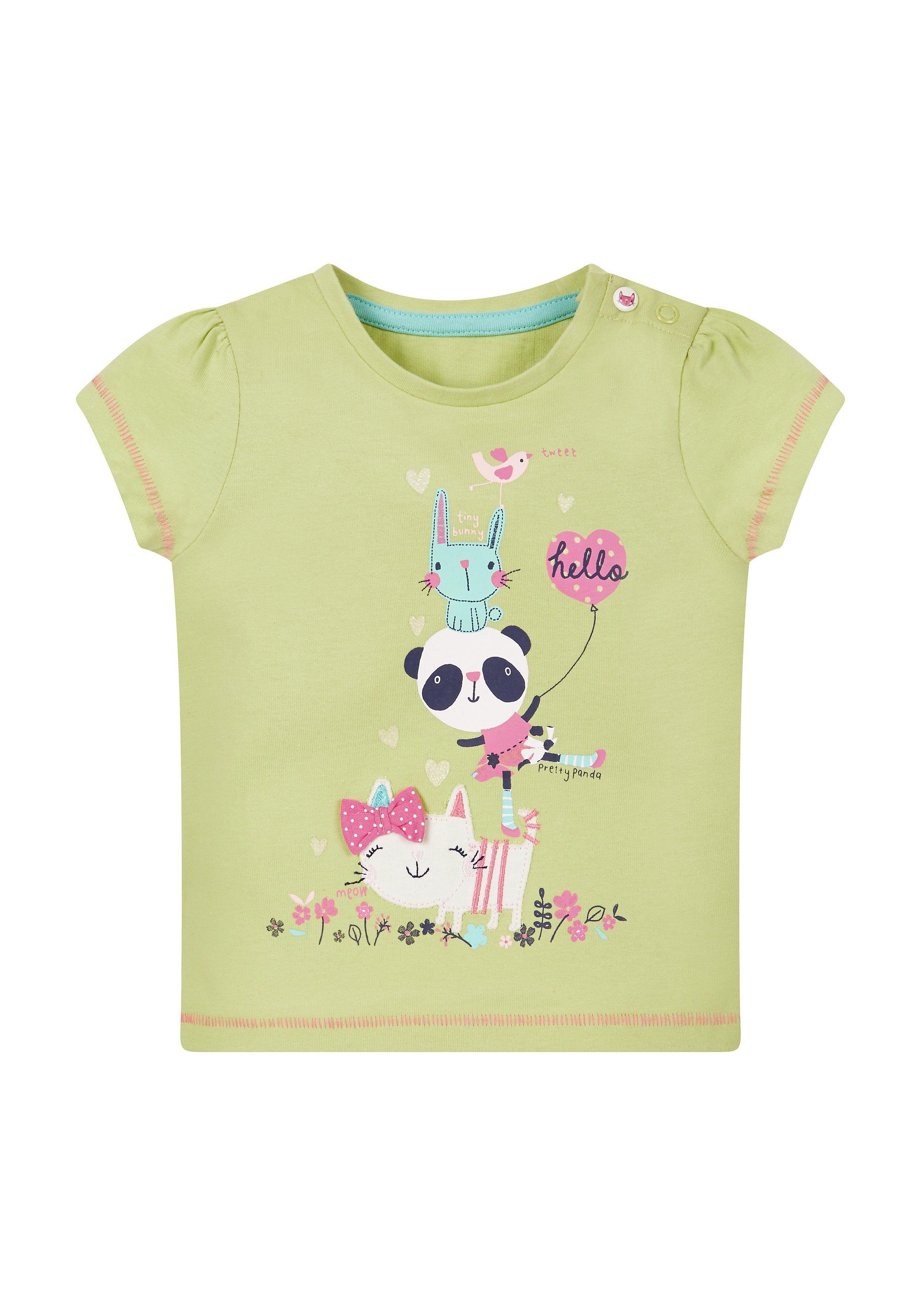 Mothercare | Panda Lime T-Shirt