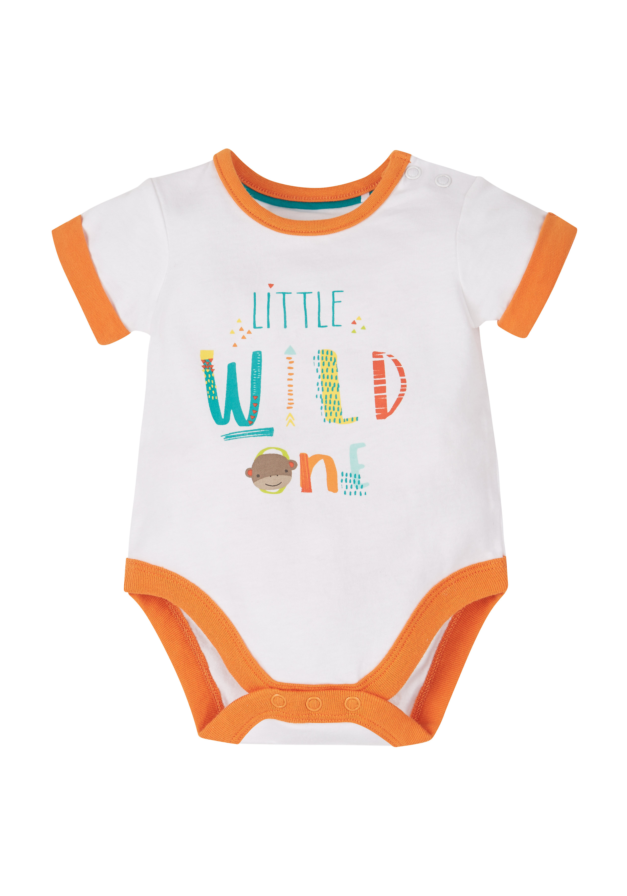 Mothercare | Boys Safari Bodysuit - White