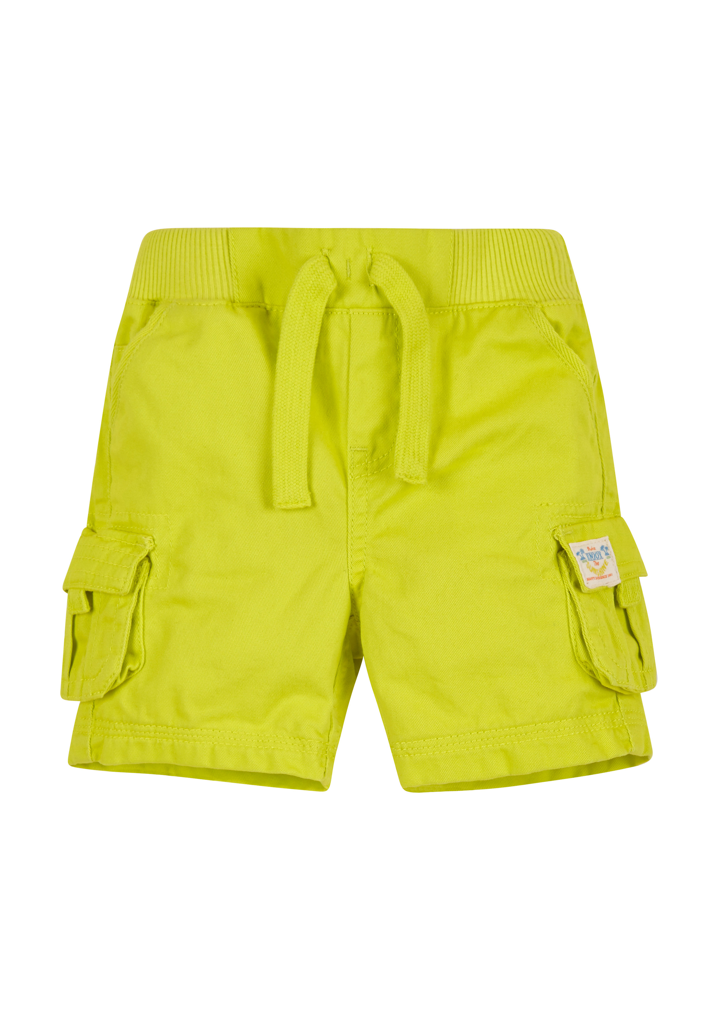 Mothercare   Boys Ribwaist Cargo Shorts - Green
