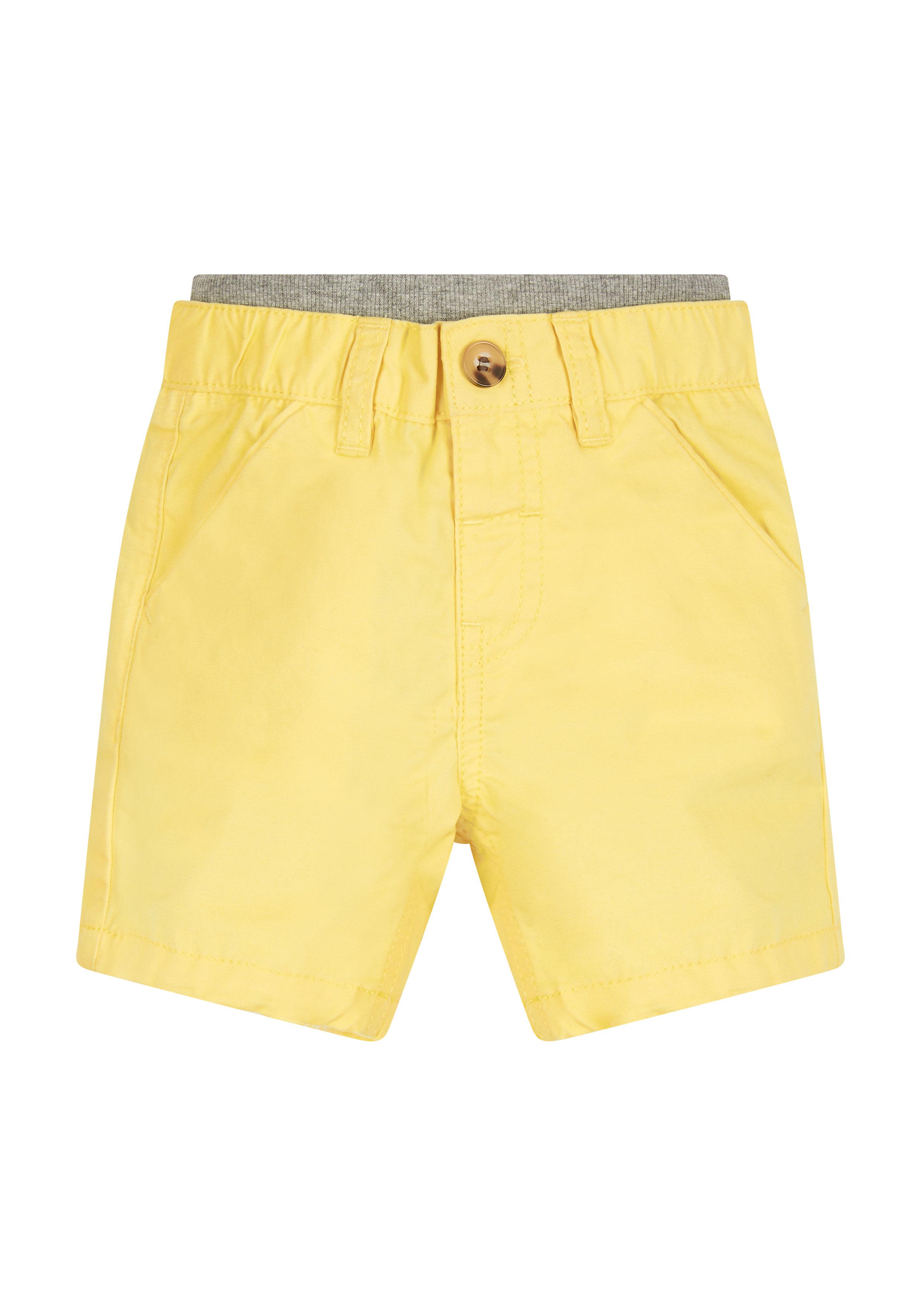 Mothercare | Boys Twill Shorts - Yellow