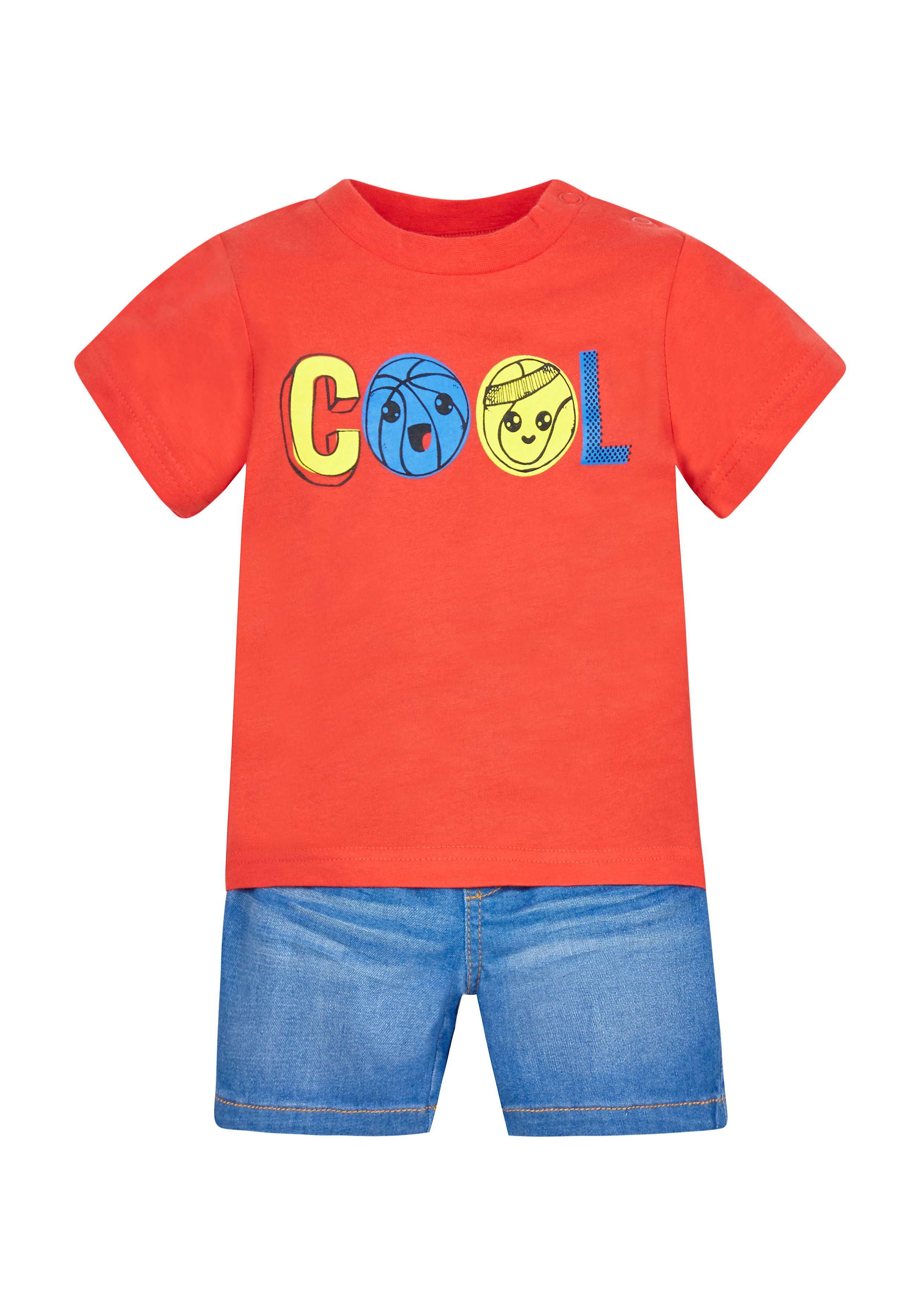 Mothercare | Boys Shorts And T-Shirt Set - Multicolor