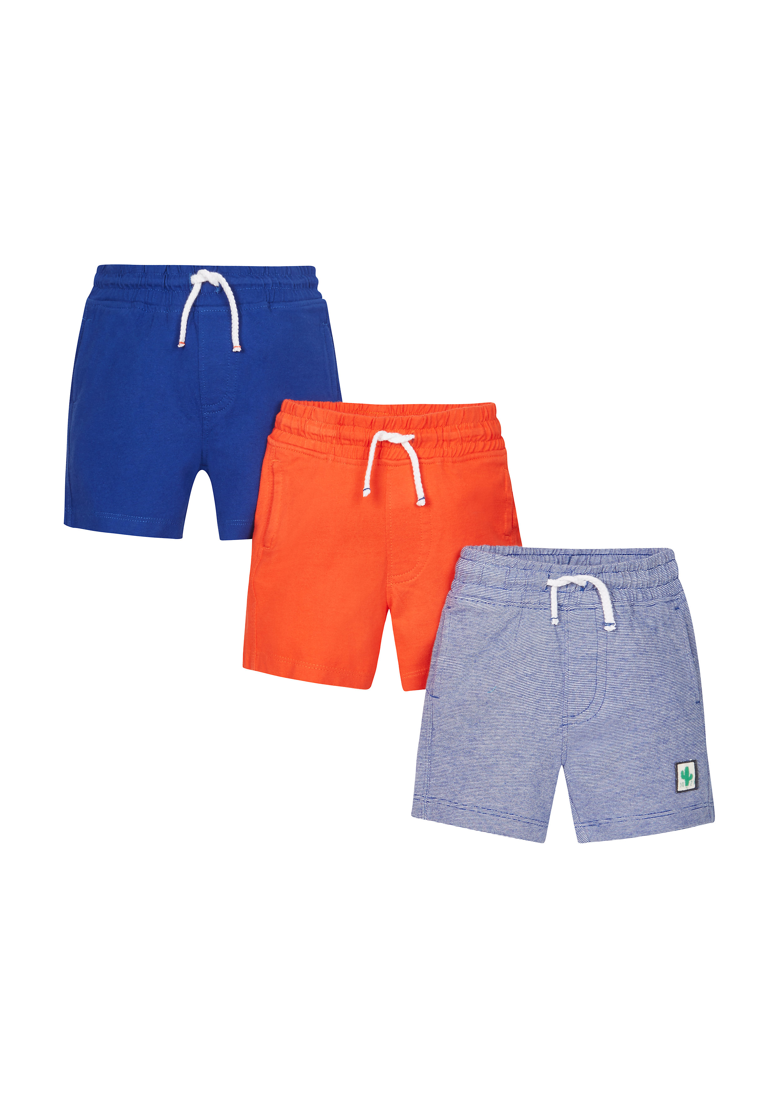 Mothercare | Boys Jersey Shorts - Pack Of 3 - Multicolor