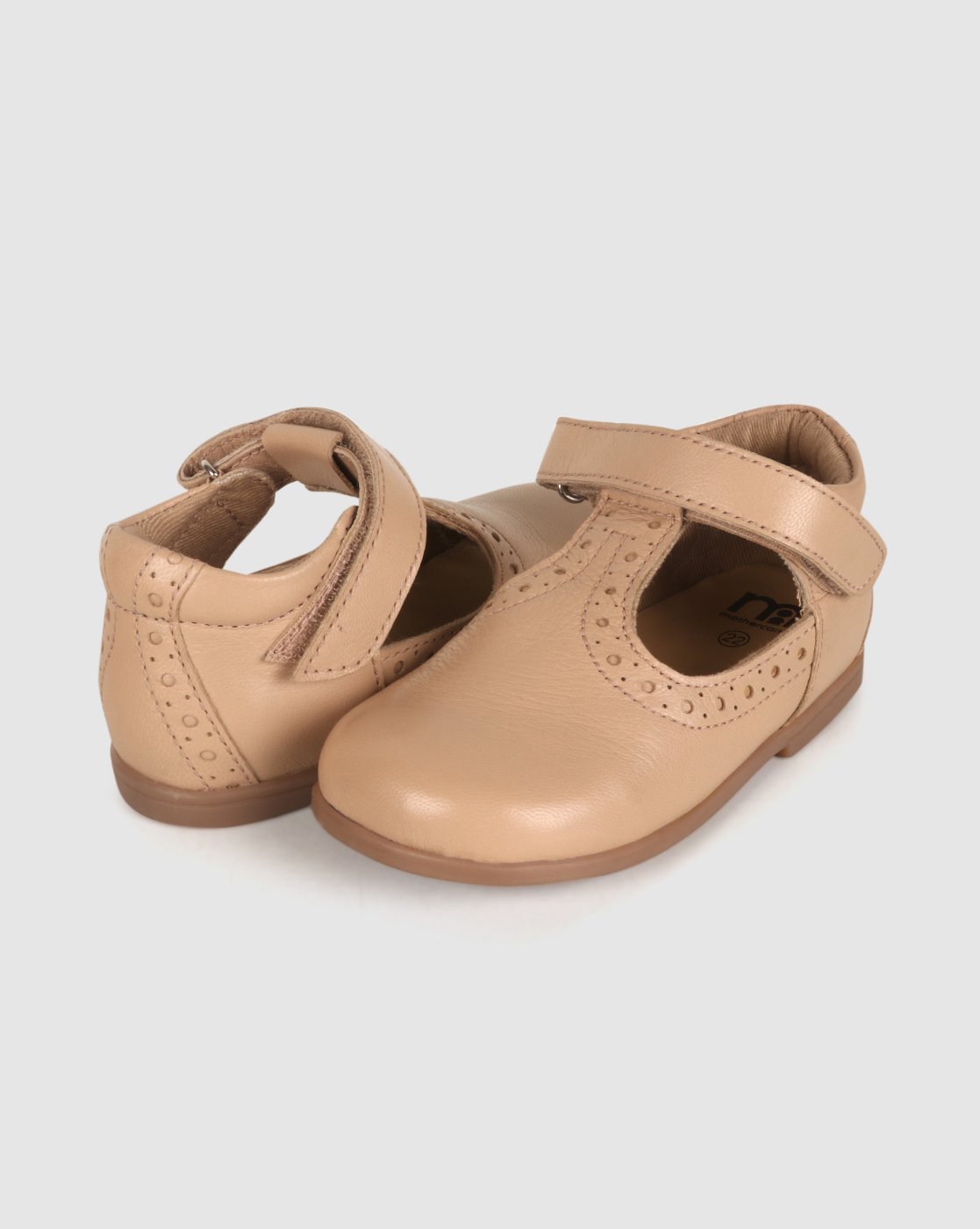 Mothercare | Girls First Walker Shoes Cut Out Design - Ivory