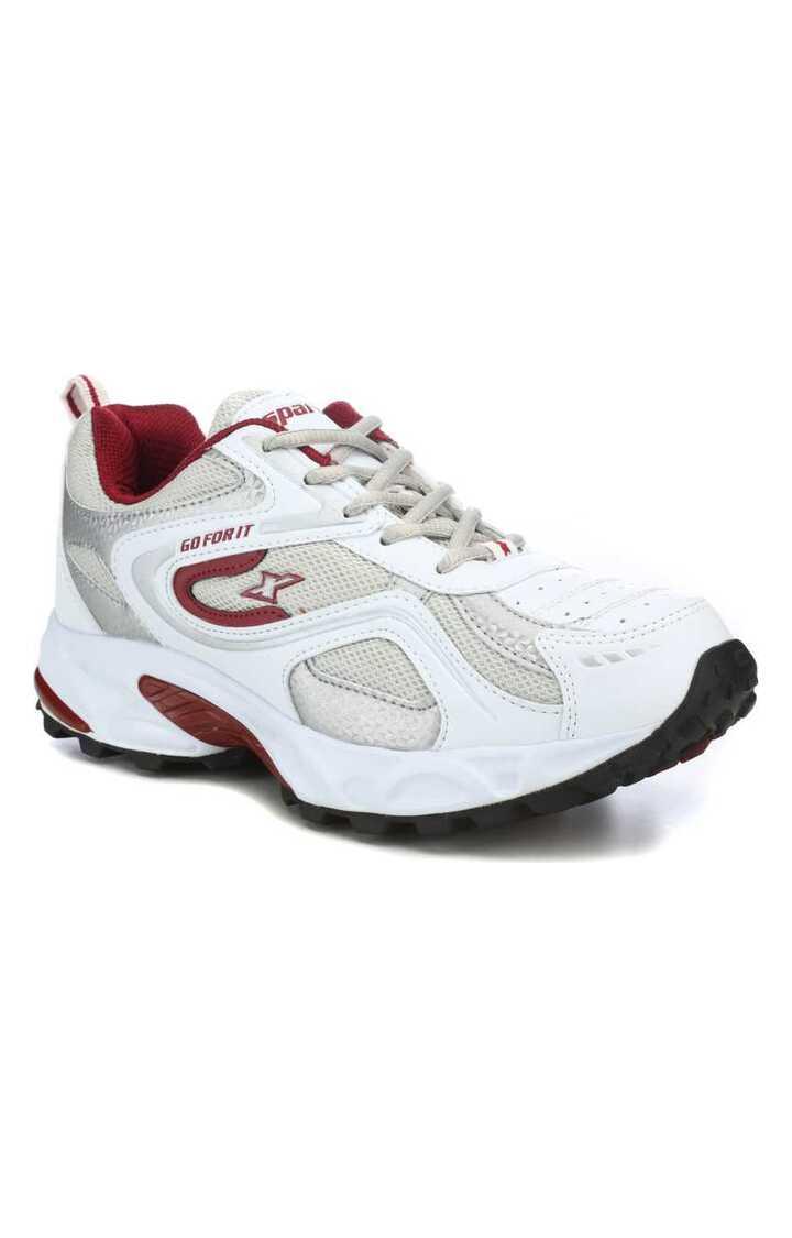 Sparx | Sparx White Running Shoes