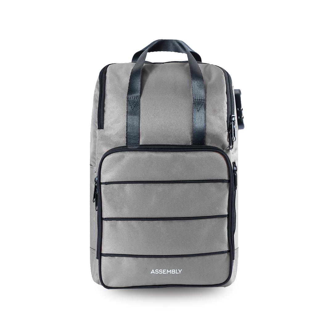 Assembly   Grey Laptop Backpack   Premium Office Laptop Bag for Men/Women