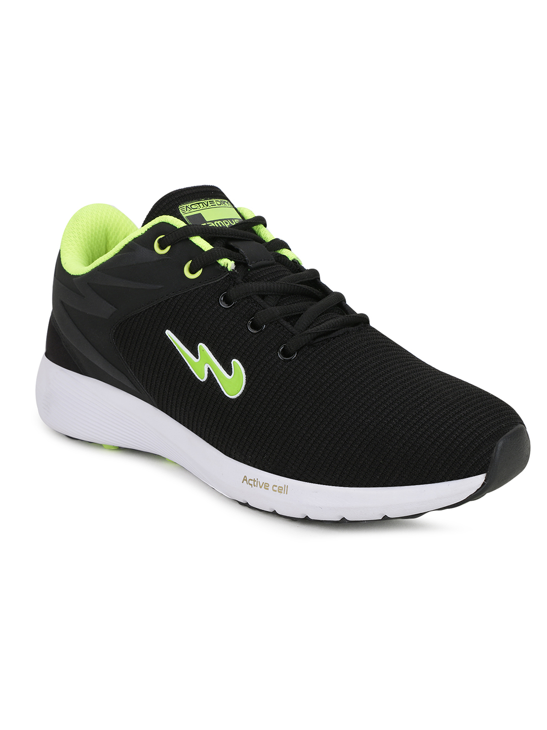 Campus Shoes | Black Royce-2 Running Shoes