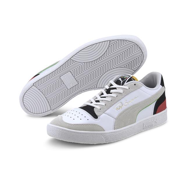 Puma   Puma Ralph Sampson Lo Wh Puma White-Puma Blac Lifestyle Shoe