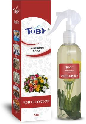 Toby | TOBY WHITE LONDON Air Freshener (Room Spray) - 250 ml*2