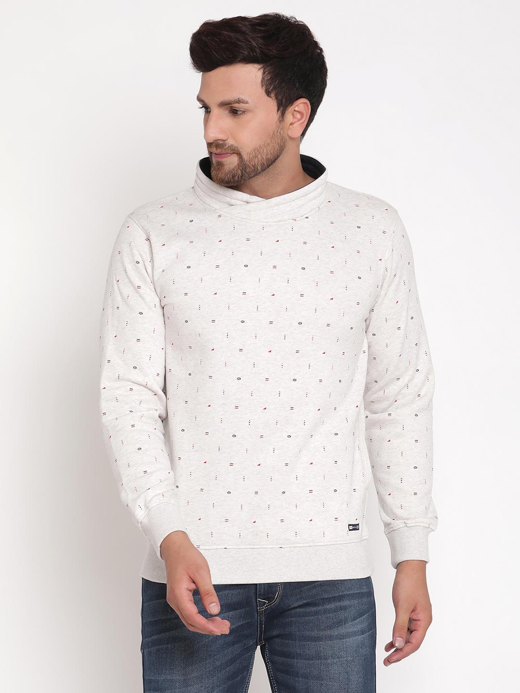 OCTAVE | Men IVORY Sweatshirts