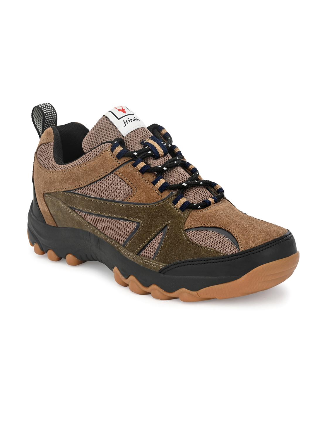 Hirolas | Hirolas Outdoor Sports Hiking trekking Shoes - Tan
