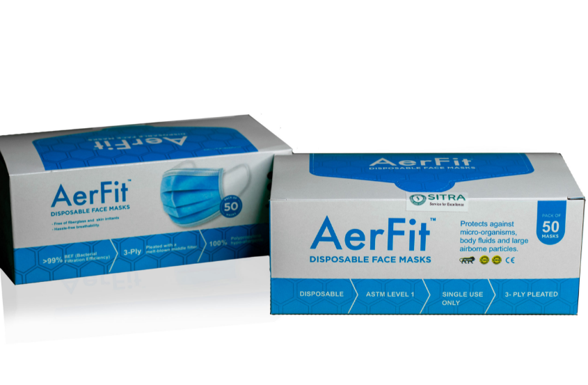 Aerfit | AerFit Disposable Face Masks 3ply (pack of 50x2 100pcs)