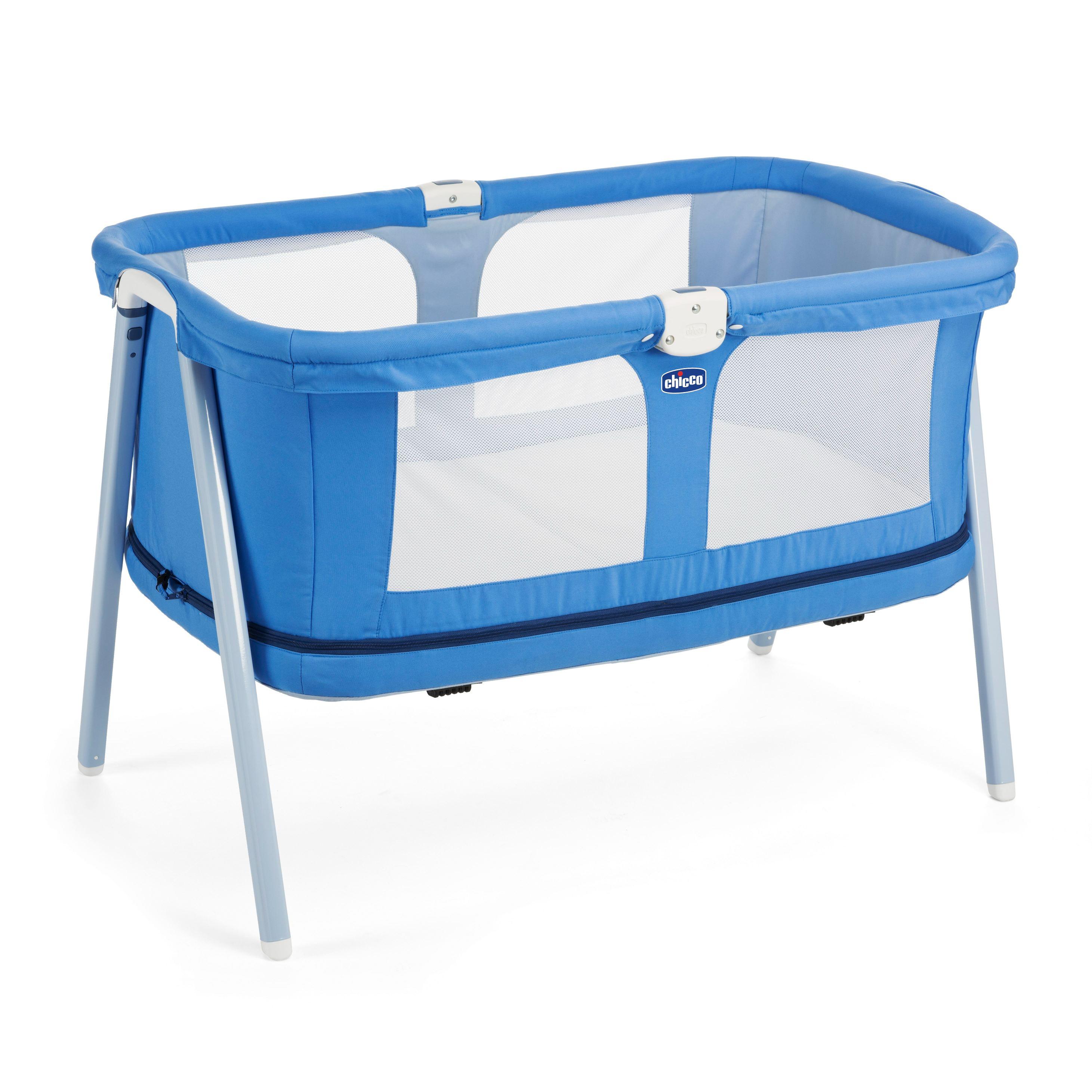 Mothercare | Chicco Lullago Zip Travel Crib Indigo