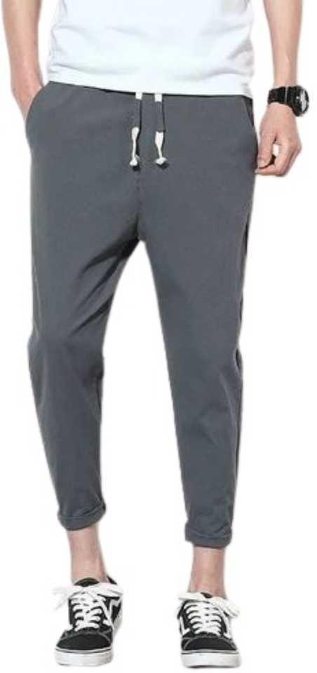 Picstar   Picstar Men's Solid Grey Track Pants