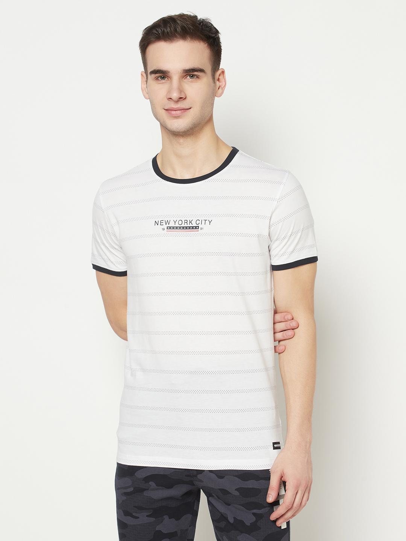 OCTAVE   Men WHITE T-Shirts