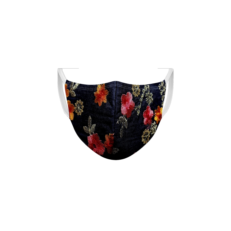 Ethnicity | Ethnicity Wine_Navy pack of 2 Women fashion mask