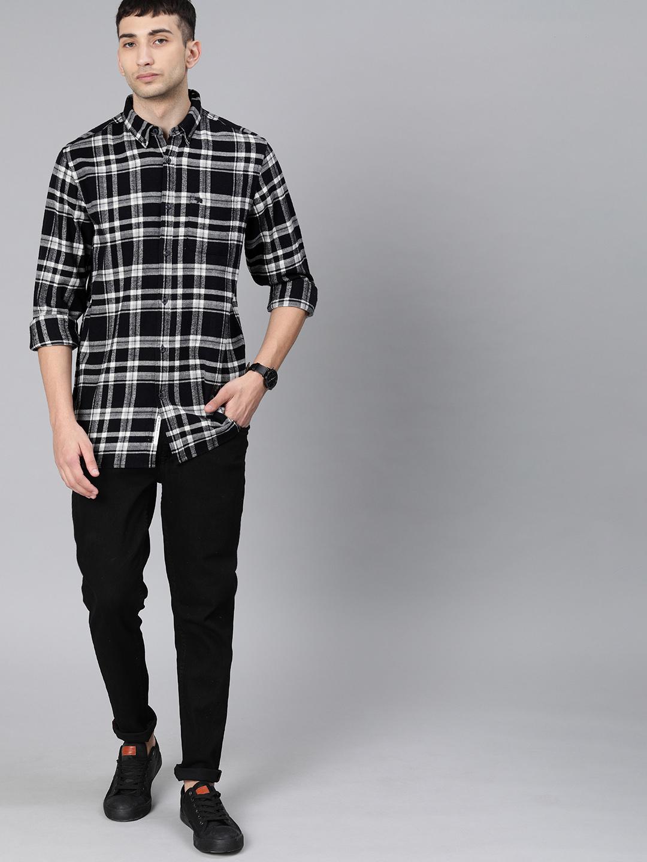 The Bear House | Men's Button-down Casual Shirt