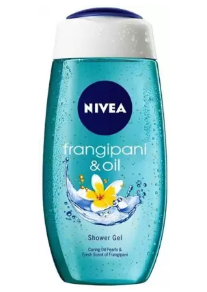 Nivea | NIVEA Body Wash Frangipani & Oil Shower Gel Pampering Care with Refreshing Scent of Frangipani Flower  (250 ml x 2)