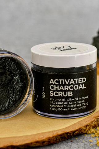 BodyCafe | BodyCafé Bamboo Charcoal Face & Body Scrub