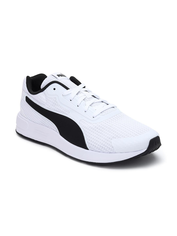 Puma | Puma Taper White-Black Running Shoe