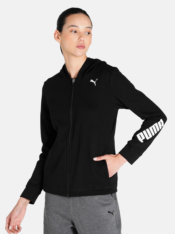 Puma | PUMA MODERN SPORTS FULL-ZIP HOODIE PUMA BLACK LIFESTYLE SweatShirt