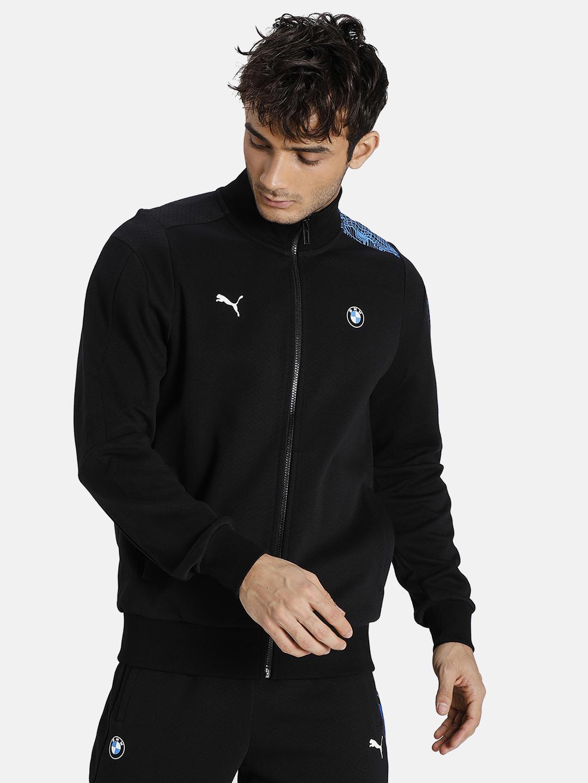 Puma | PUMA BMW MMS T7 FULL-ZIP PUMA BLACK LIFESTYLE SweatShirt