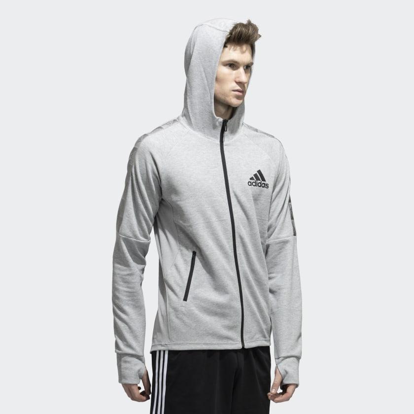 adidas | ADIDAS M MT FZ HD TRAINING HOODY