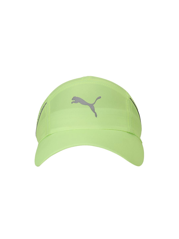Puma | PUMA LIGHTWEIGHT RUNNER CAP GREEN GLARE LEISURE CAP