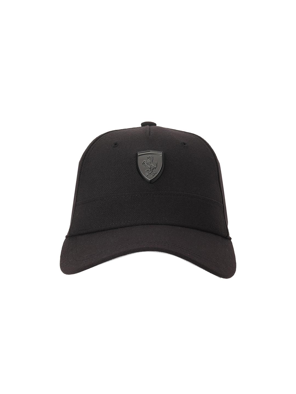 Puma | PUMA FERRARI SPTWR STYLE BB CAP PUMA BLACK LEISURE CAP