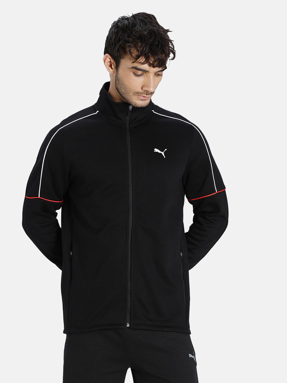 Puma   PUMA VK FULL-ZIP PUMA BLACK LIFESTYLE SweatShirt