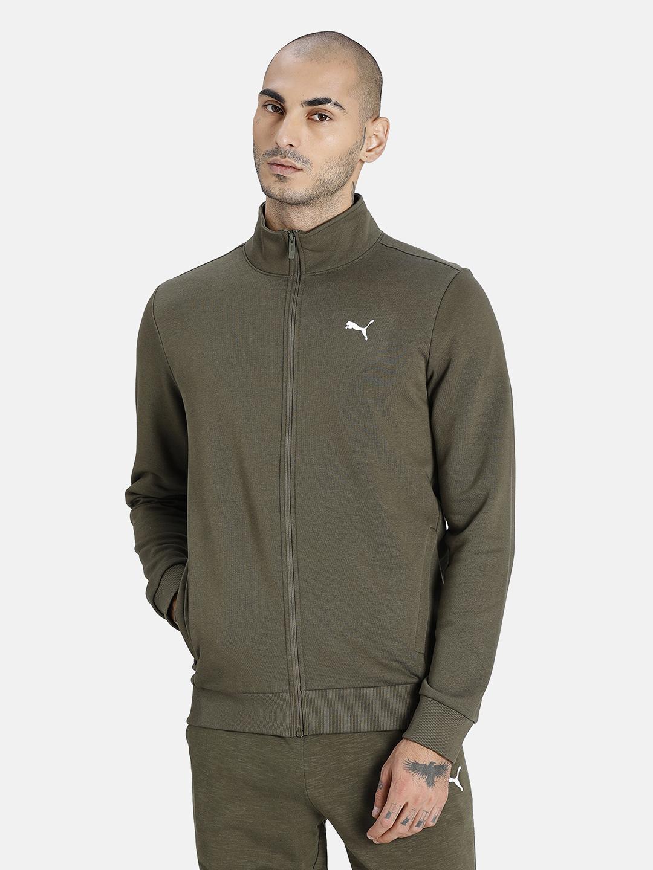 Puma | PUMA ZIPPERED FULL-ZIP TR GRAPE LEAF LIFESTYLE SweatShirt