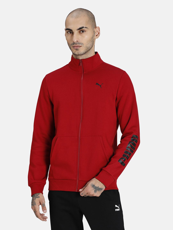Puma | PUMA ZIPPERED FULL-ZIP FL INTENSE RED LIFESTYLE SweatShirt