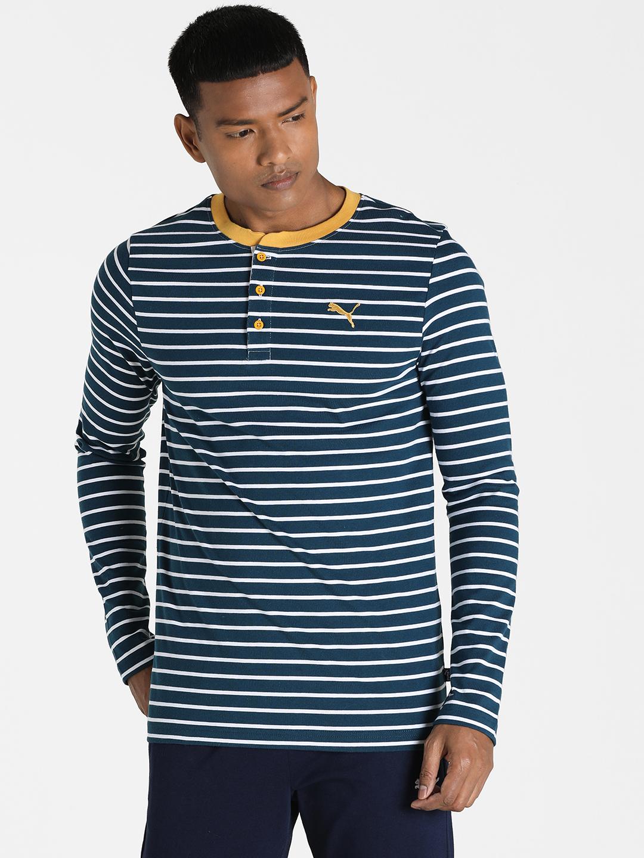 Puma | PUMA LS TEE INTENSE BLUE LIFESTYLE SweatShirt