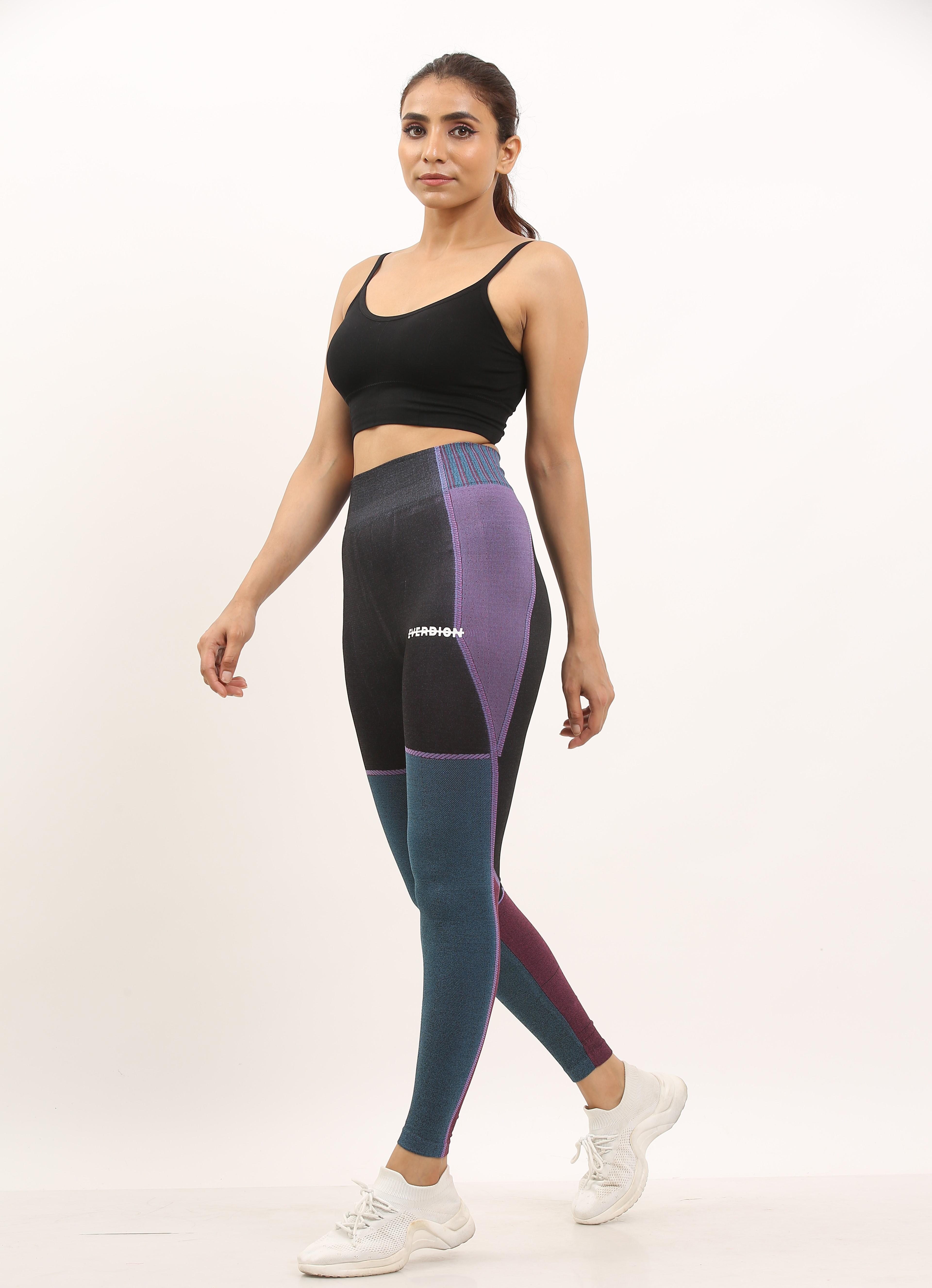 EVERDION | Purple Blue Yoga Set