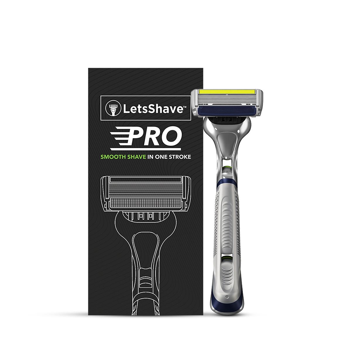 LetsShave | LetsShave Pro 6 Plus Face & Body Shaving Razor for Men