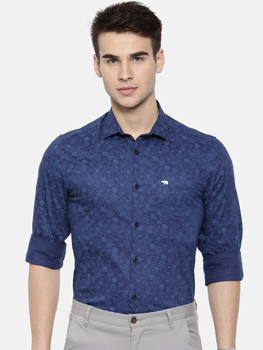 The Bear House   TBH CLASSIC FORMAL SHIRT WITH SIDE PANELS.