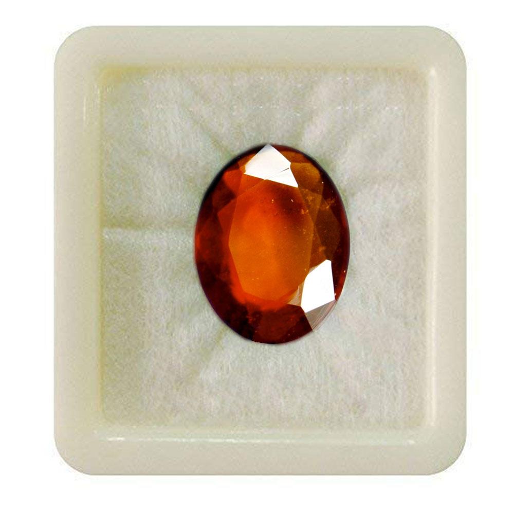 55Carat   Original Certified Red Hessonite 5.25 Ratti 4.77 Carat Rashi Ratan Astrology Loose Bead