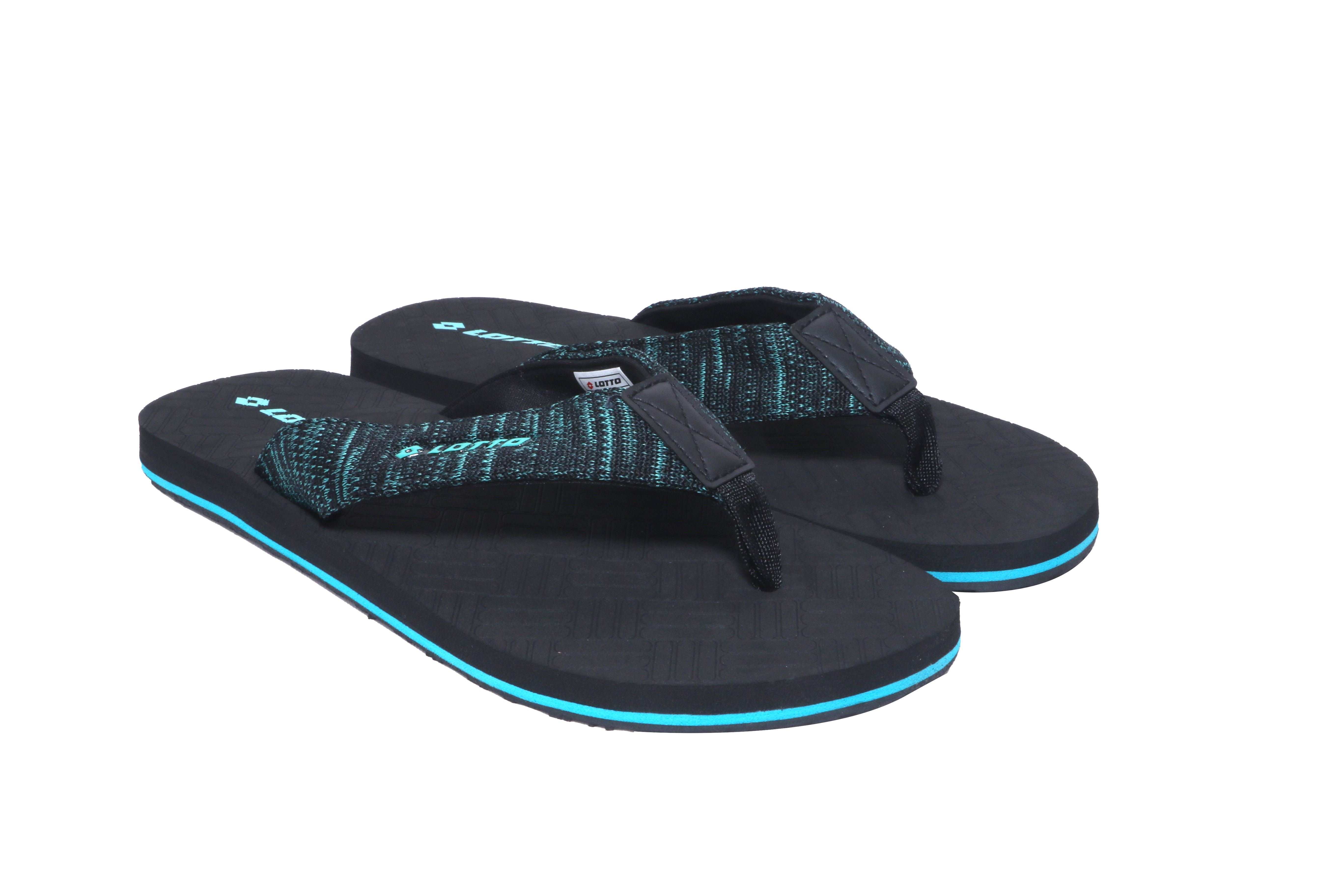 Lotto   Lotto Men's Mariano Teal/Black Slippers