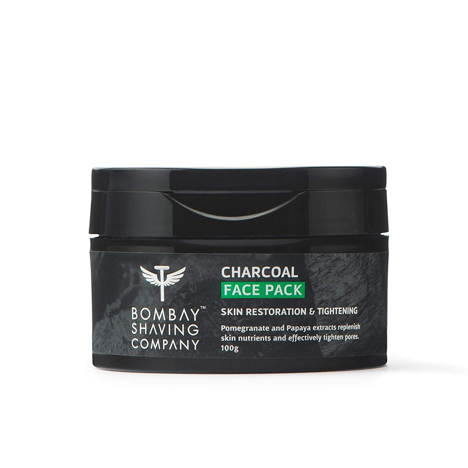 Bombay Shaving Company |  Charcoal Face Pack- 100g