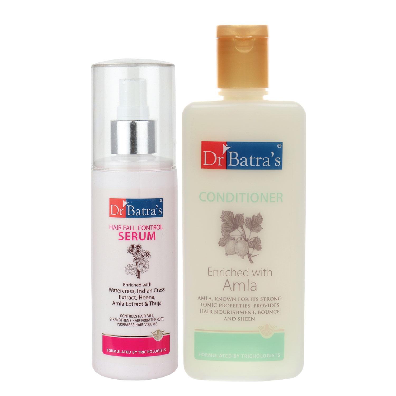 Dr Batra's | Dr Batra's Hair Fall Control Serum-125 ml and Conditioner - 200 ml