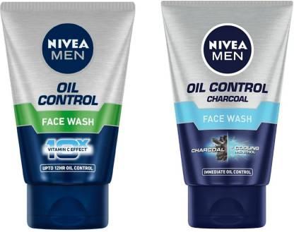 Nivea | NIVEA Oil Control Charcoal & Oil Control (Pack of 2)