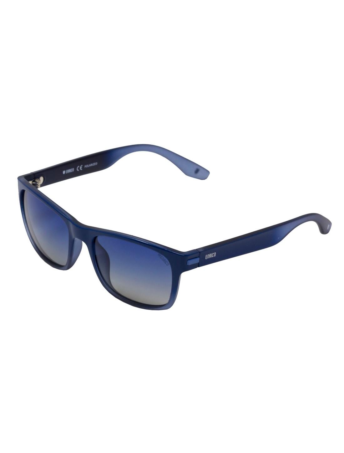ENRICO   ENRICO Blueberry UV Protected & Polarized Sunglasses for Men ( Lens - Blue   Frame - Blue)