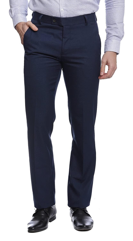 TAHVO | Blue TAHVO Men formal trousers
