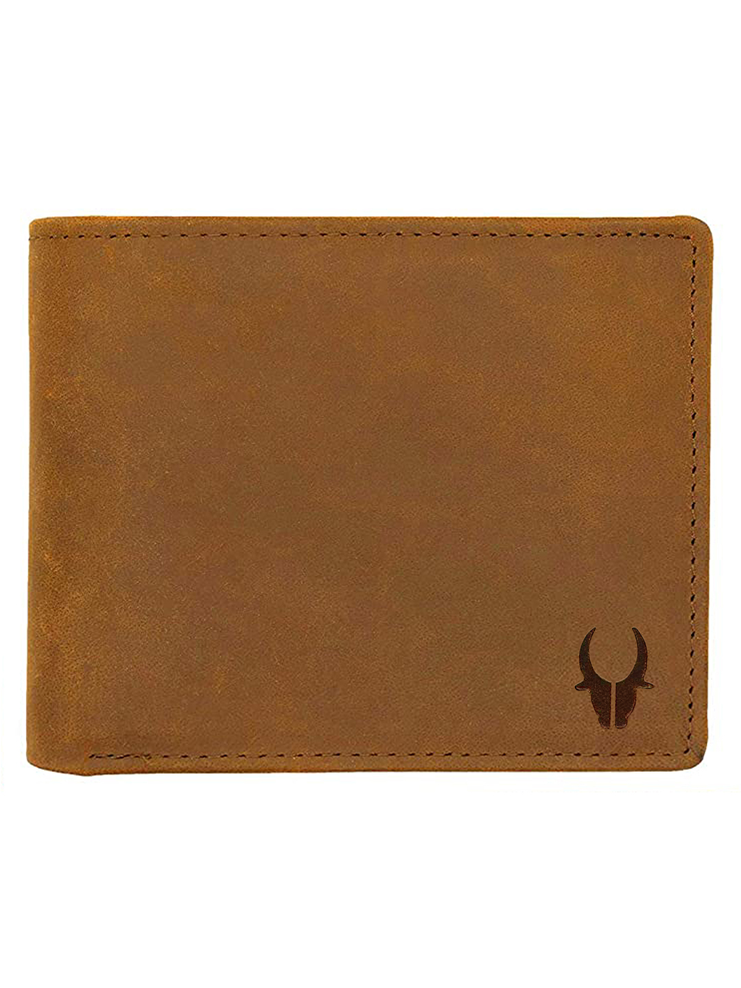 WildHorn | WildHorn Engraved Personalized Tan Leather Wallet for Men