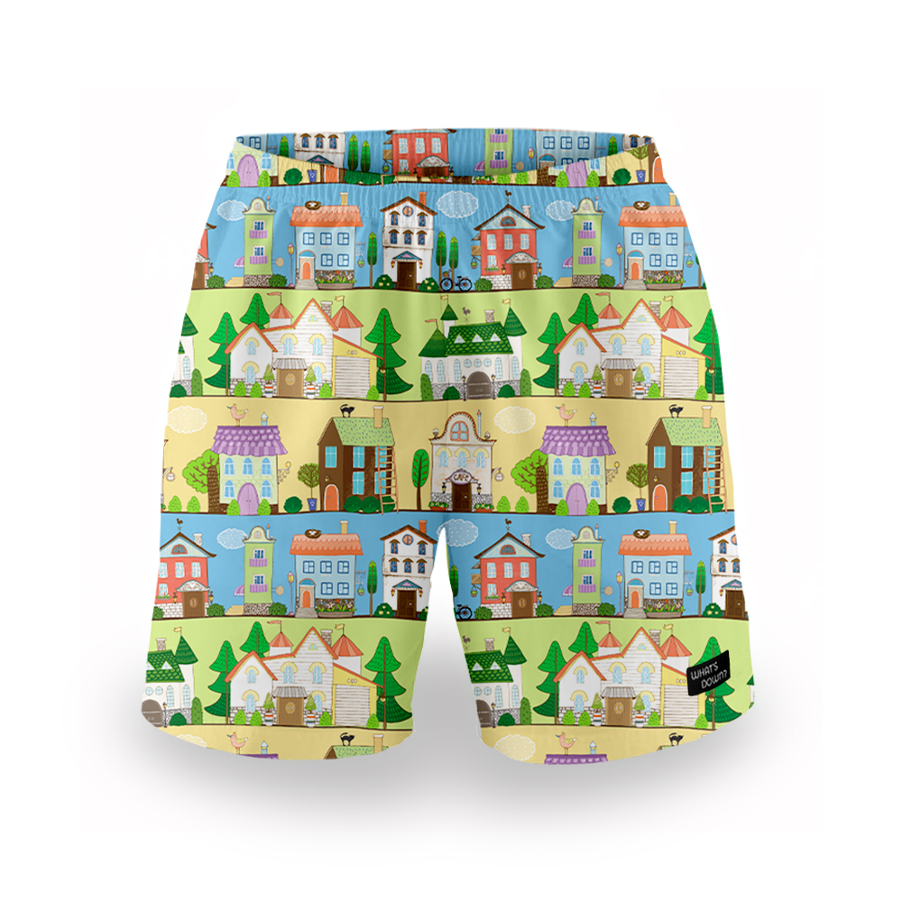 Whats Down | Multicolour Townside Mens Boxers