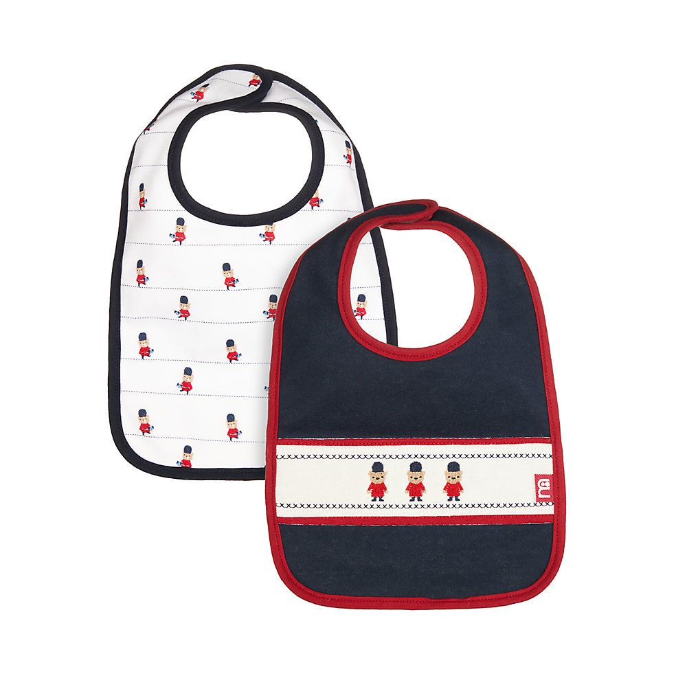 Mothercare | Mothercare Heritage Guardsman Bibs - 2 Pack