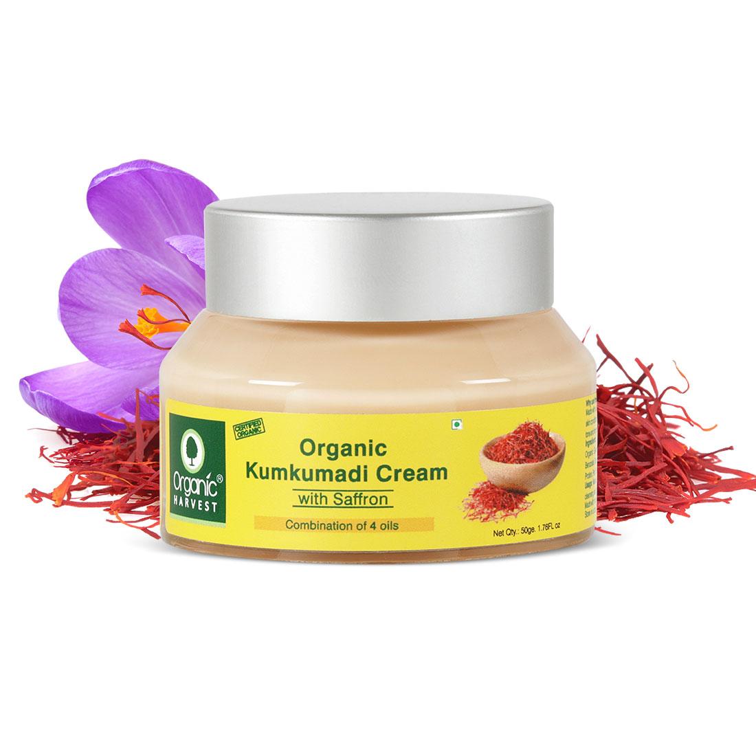 Organic Harvest | Cream - Kumkumadi, 50gm