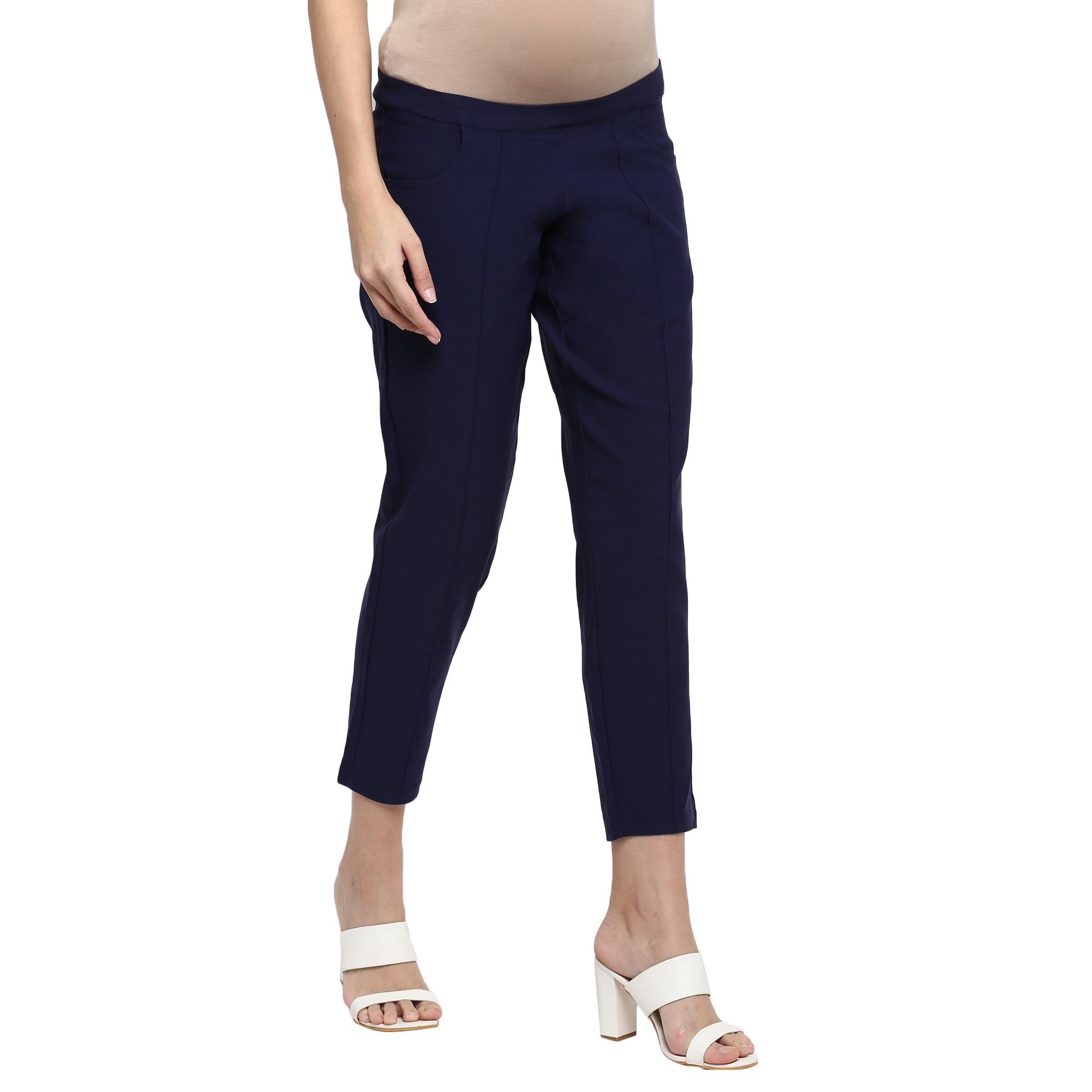 Mothercare   Women Maternity Chinos - Blue
